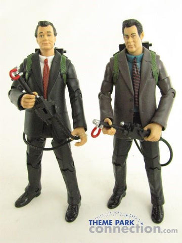 Matty Collector GHOSTBUSTERS 2 Peter Venkman Ray Stantz Courtroom Action Figure Toy Lot
