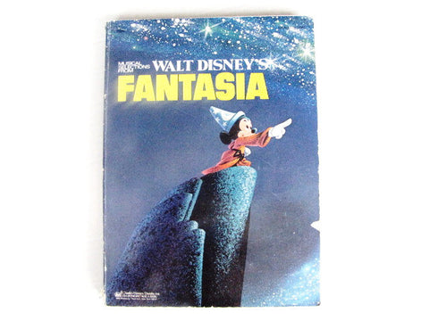 Musical Selections From Walt Disney's Fantasia 1975 Sheet Music Book