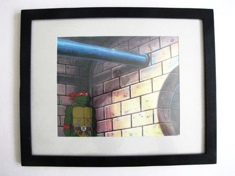 Teenage Mutant Ninja Turtles Tv Series Raphael Animation Cel
