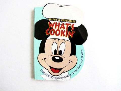 What's Cookin' Salads & Vegetables Disney Theme Parks Recipe Book