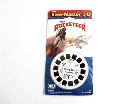 Disney 1991 The Rocketeer Movie View-Master Reel Set
