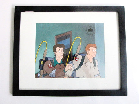 The Real Ghostbusters Animated TV Series Venkman & Stantz Cel