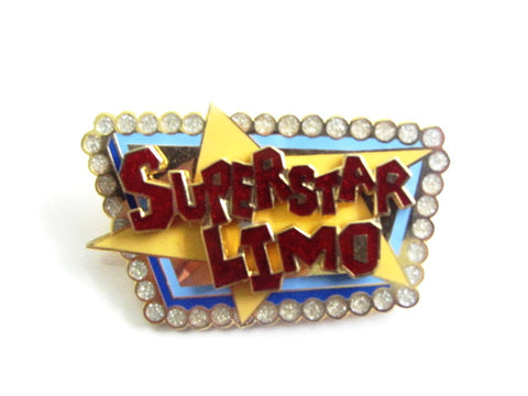 Disney California Adventure Superstar Limo Trading Pin