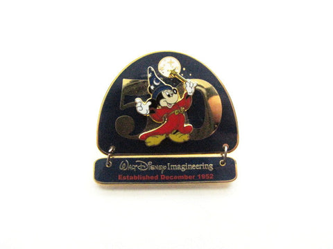 Walt Disney Imagineering 50th Anniversary 2002 Dangle Pin