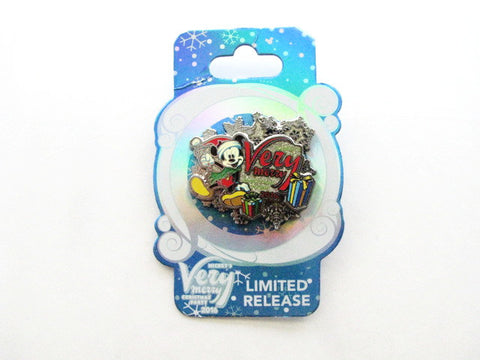 Disney World 2016 Mickey's Very Merry Christmas Party Pin