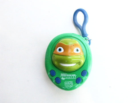 Teenage Mutant Ninja Turtles Michelangelo Pocket Pals Talking Keychain
