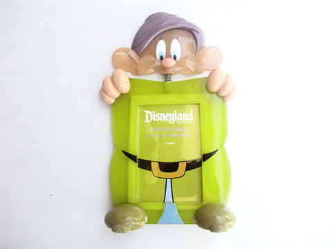 Disneyland Resort Retired Dopey Bobble Head Photo Frame