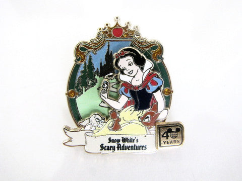 Disney World LE Snow White's Scary Adventures 40th Anniversary Pin