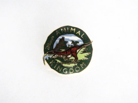 Disney World 2002 Animal Kingdom Dinosaur Attraction Pin