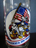 Walt Disney Productions 1976 America On Parade Bicentennial Glass