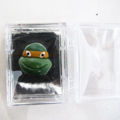 Teenage Mutant Ninja Turtles Blown Glass Heads Set
