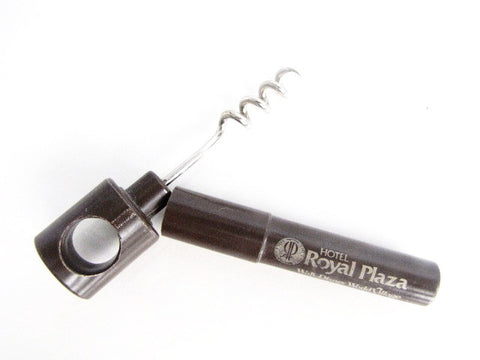 Walt Disney World Village Vintage Royal Plaza Hotel Cork Screw