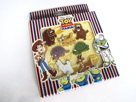 Disney World 2008 Toy Story Mania 7 Pin Boxed Set