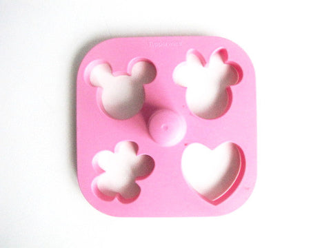 Walt Disney Retired Mickey & Minnie Tupperware Cookie Cutter