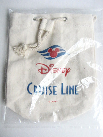 Disney Cruise Line Retired Miniature Drawstring Bag