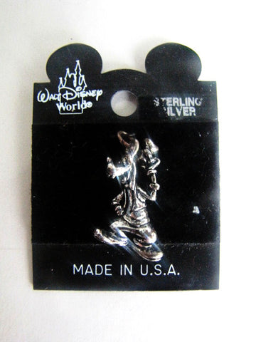 Walt Disney World Retired Goofy Sterling Silver Charm