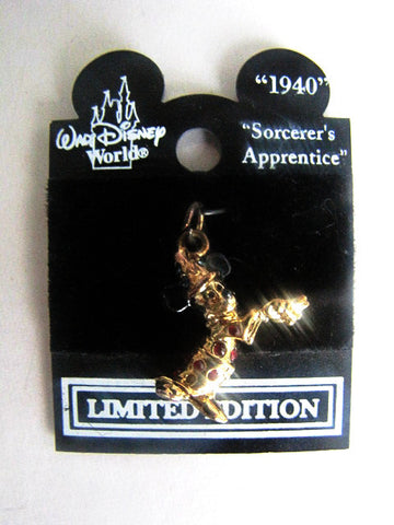 Walt Disney World LE Mickey Progressive Sterling Silver Charm