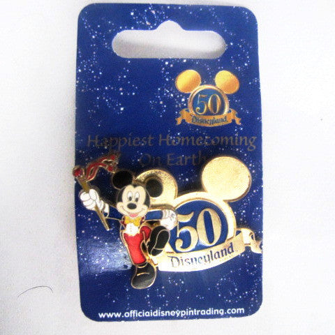 Disney 2005 Disneyland 50th Anniversary Happiest Homecoming Pin