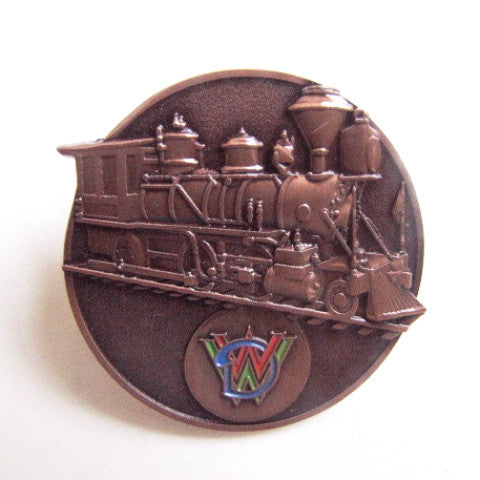Walt Disney World Railroad Bronze Style 2016 Trading Pin