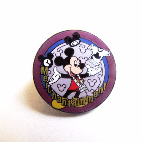 Disney World 2000 Merchandise Cast Member Mickey Pin