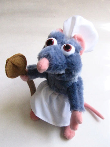 "Walt Disney Parks Ratatouille 9"" Remy Plush"