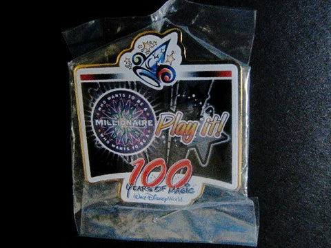 "Disney ""100 Years Of Magic"" Who Wants To Be A Millionaire Event Trading Pin"