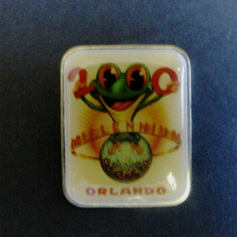 Rainforest Cafe 2000 Millennium Downtown Disney Pin