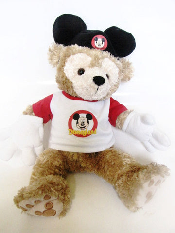Disney Parks Retired Mickey Mouse Club Duffy The Bear Plush