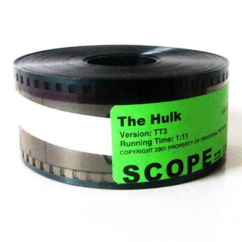 The Hulk 2001 Marvel Movie Universal Pictures Trailer 35mm Film