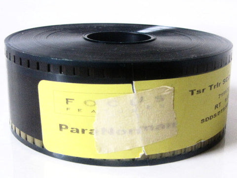 ParaNorman 2012 Movie Focus Features Trailer 35mm Film