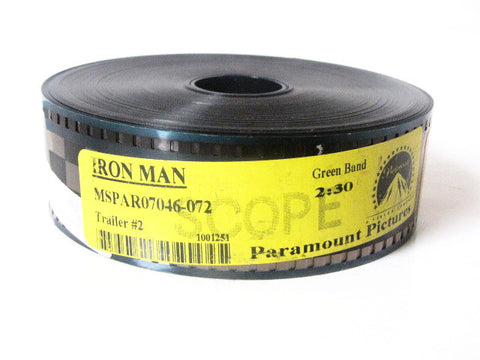 Iron Man 2008 Marvel Movie Paramount Pictures Trailer 35mm Film