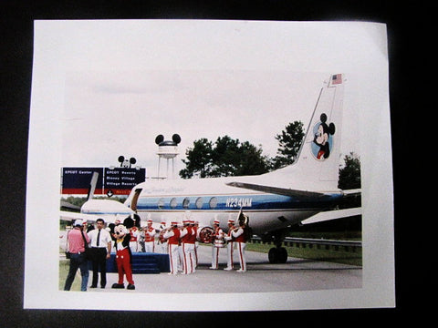 Disney World 1989 Ear Force One Press Photograph