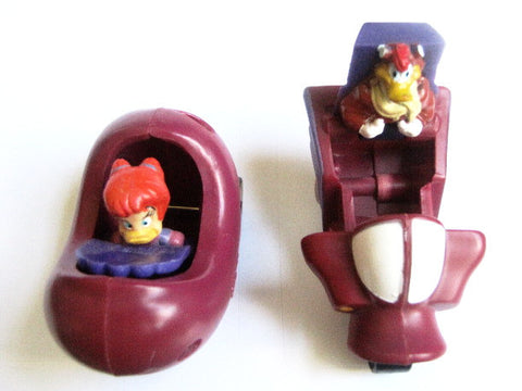 Darkwing Duck 1993 Disney Afternoon McDonald's Kids Meal Toy Cars