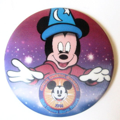 Disneyana Convention 1994 Walt Disney World Lenticular Button