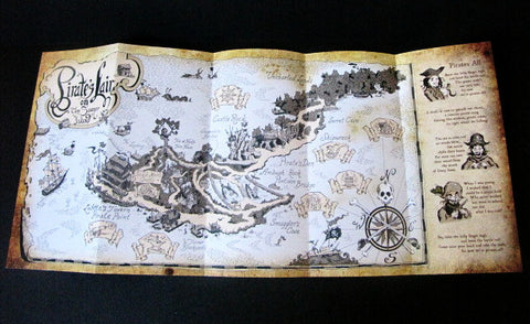 Disneyland 2007 Tom Sawyer Island Explorer's Map