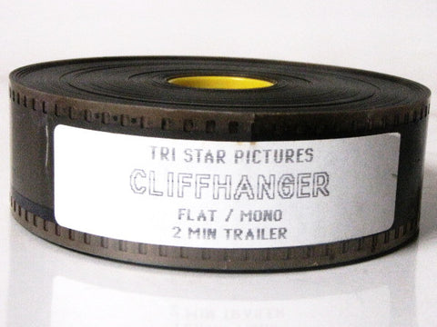 Cliffhanger 1993 Movie Tri Star Pictures Trailer 35mm Film
