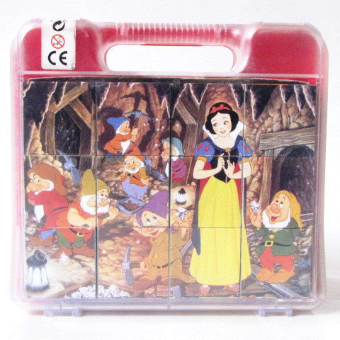 Disney Snow White And The Seven Dwarfs Clementoni Cubes Puzzle