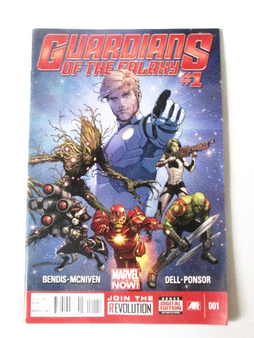 Guardians of the Galaxy 2013 Marvel Now Disney Comic Book Issue #1