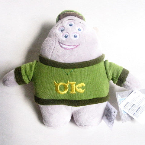 Disney Store Pixar 2013 Monsters University Squishy Plush Toy
