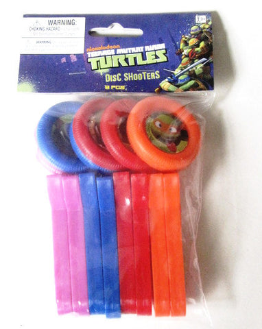 Teenage Mutant Ninja Turtles 2012 Disc Shooters (8-Pk)