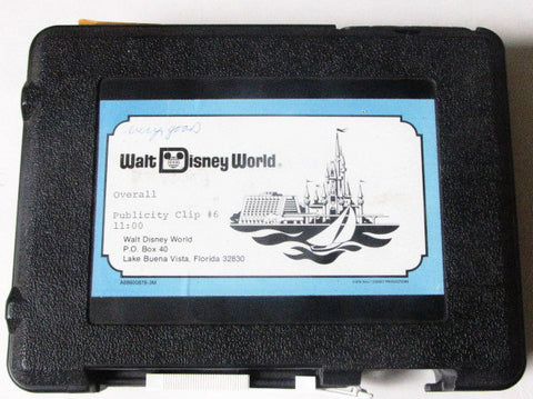 Walt Disney World Resort Vintage 1978 Publicity Clip U-Matic Tape