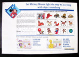 Disney 1989 Object Matching Light & Learn MB Game
