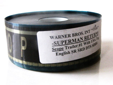 Superman Returns 2006 Movie Trailer 35mm Film