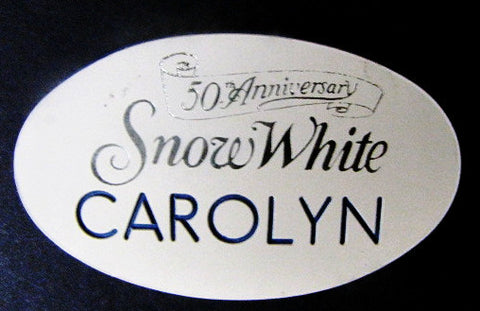 Disneyland 1987 Snow White 50th Anniversary Cast Member Name Tag
