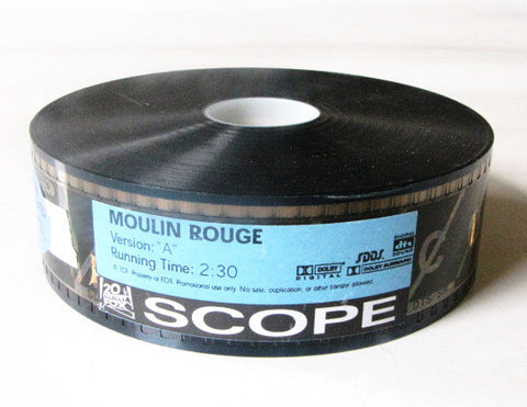 Moulin Rouge 2001 Movie 20th Century Fox Trailer 35mm Film