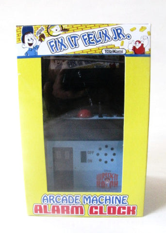 Disney Wreck-It-Ralph Fix It Felix JR. Arcade Style Alarm Clock