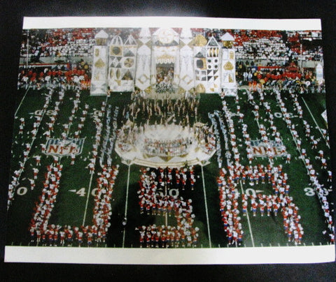 Disney 1991 Super Bowl XXV It's A Small World Halftime Show Press Photo
