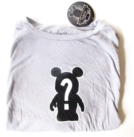 "Walt Disney World Retired Vinylmation ""I'm The Chaser"" Men's T-Shirt NWT"