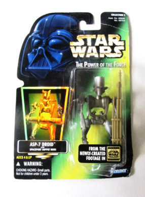 Star Wars 1996 ASP-7 Droid Hasbro Action Figure
