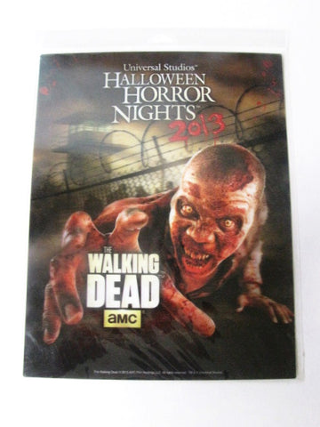 Halloween Horror Nights 23 The Walking Dead Universal Orlando 2013 Lenticular Print